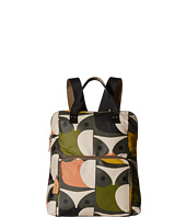 Orla Kiely - Matt Laminated Big Owl Print Backpack Tote