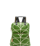 Orla Kiely - Matt Laminated Giant Linear Stem Print Backpack Tote