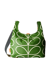 Orla Kiely - Matt Laminated Giant Linear Stem Print Midi Sling Bag