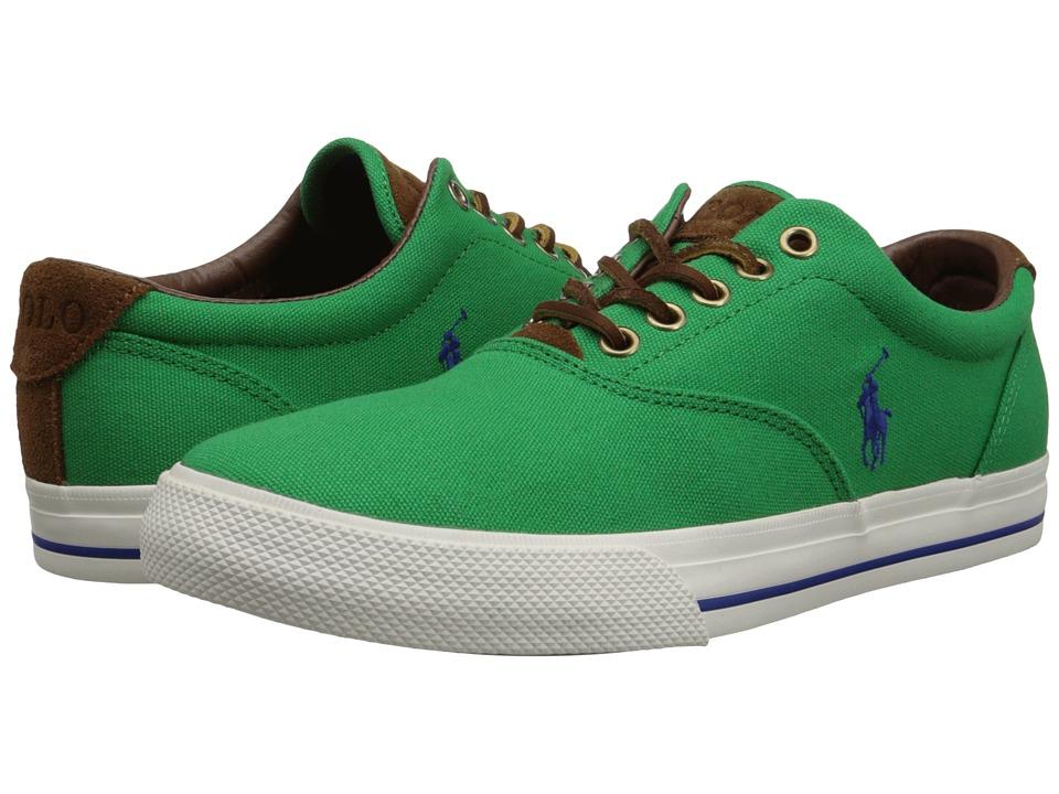 Polo Ralph Lauren - Vaughn (Flag Green Canvas/Sport Suede) Men