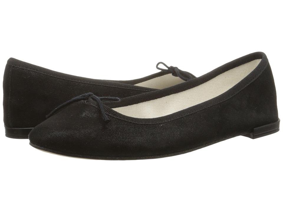 Repetto Cendrillon Carbone Womens Flat Shoes