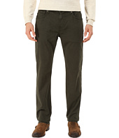 7 For All Mankind - Straight - Sateen in Twig Green