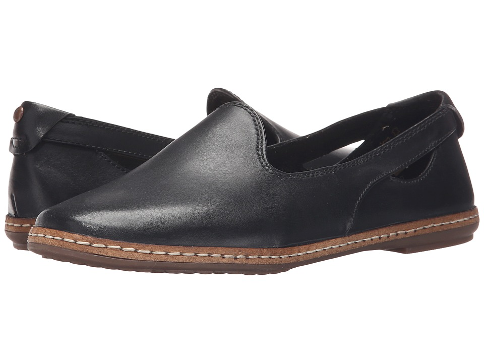 Hush Puppies - Sebeka Piper (Black Leather) Women