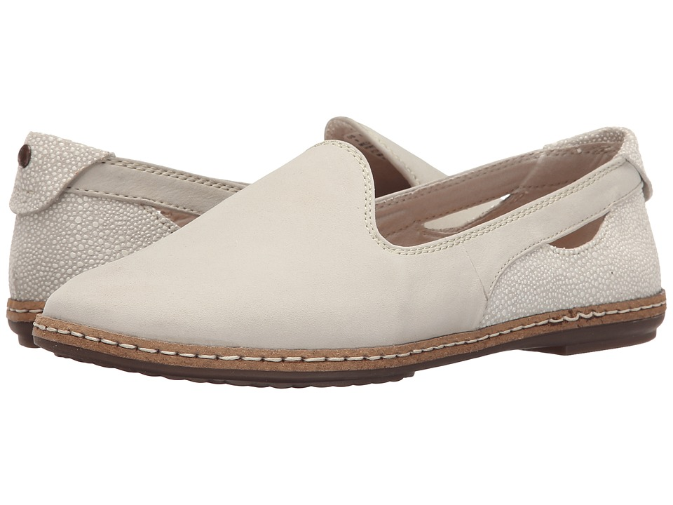 Hush Puppies - Sebeka Piper (Off-White Nubuck) Women