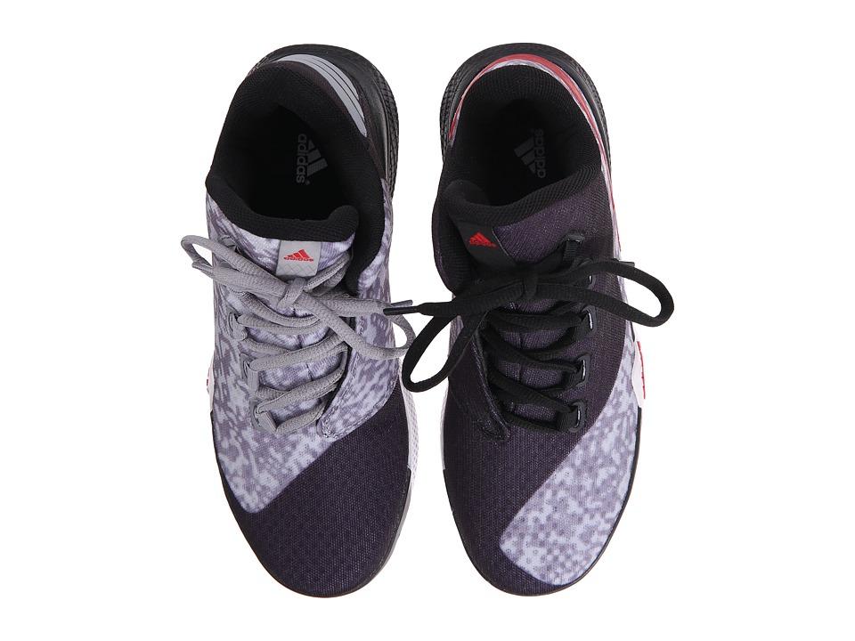 adidas Kids - Light 'Em Up 2 (Big Kid) (Light Onix/Scarlet/Black) Boys Shoes