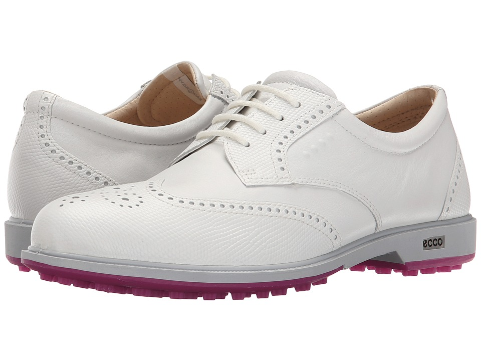 Ecco Golf - Classic Golf Hybrid (White) Women's Golf Shoes