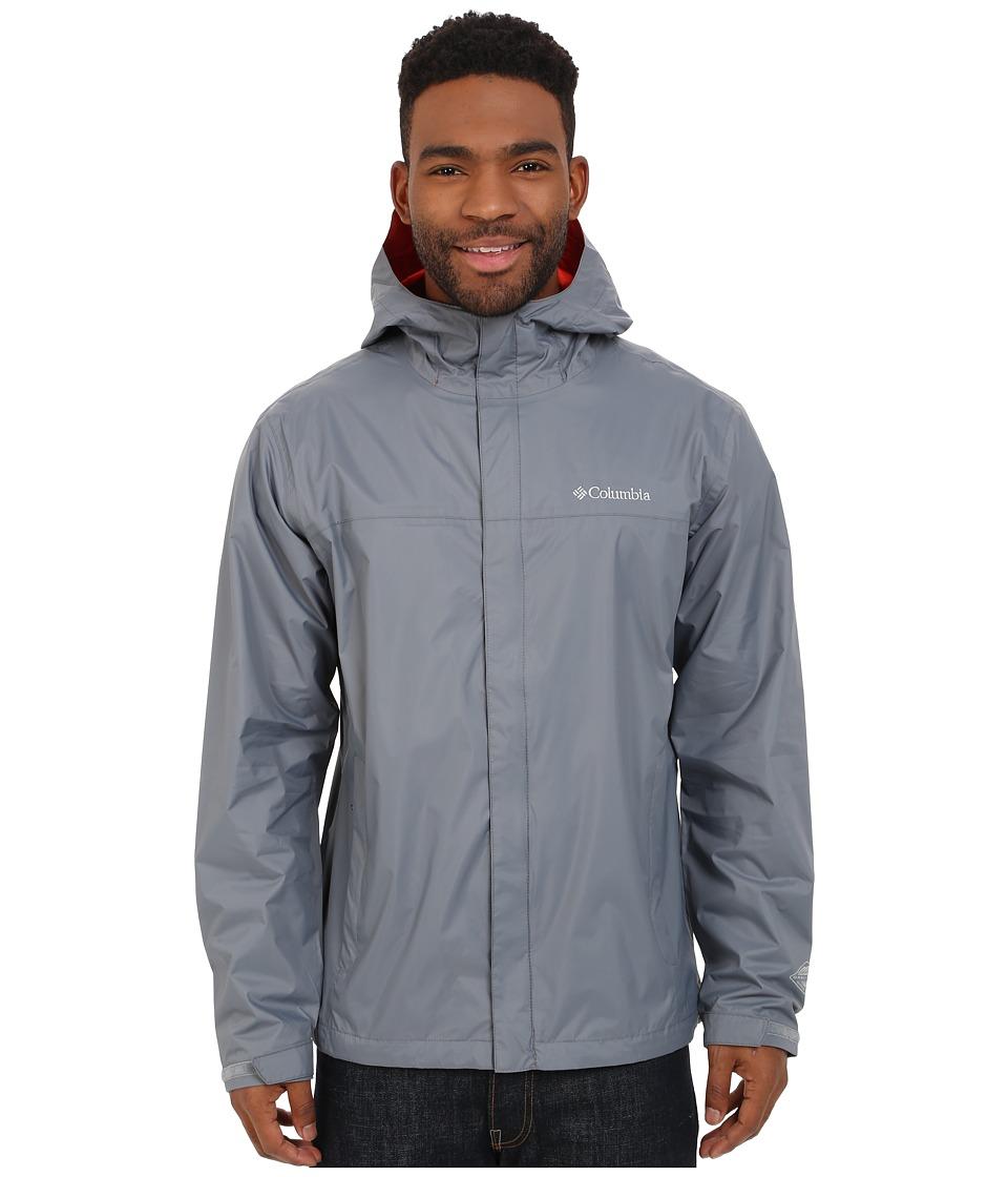 Columbia Watertight II Jacket (Grey Ash/Super Sonic) Men