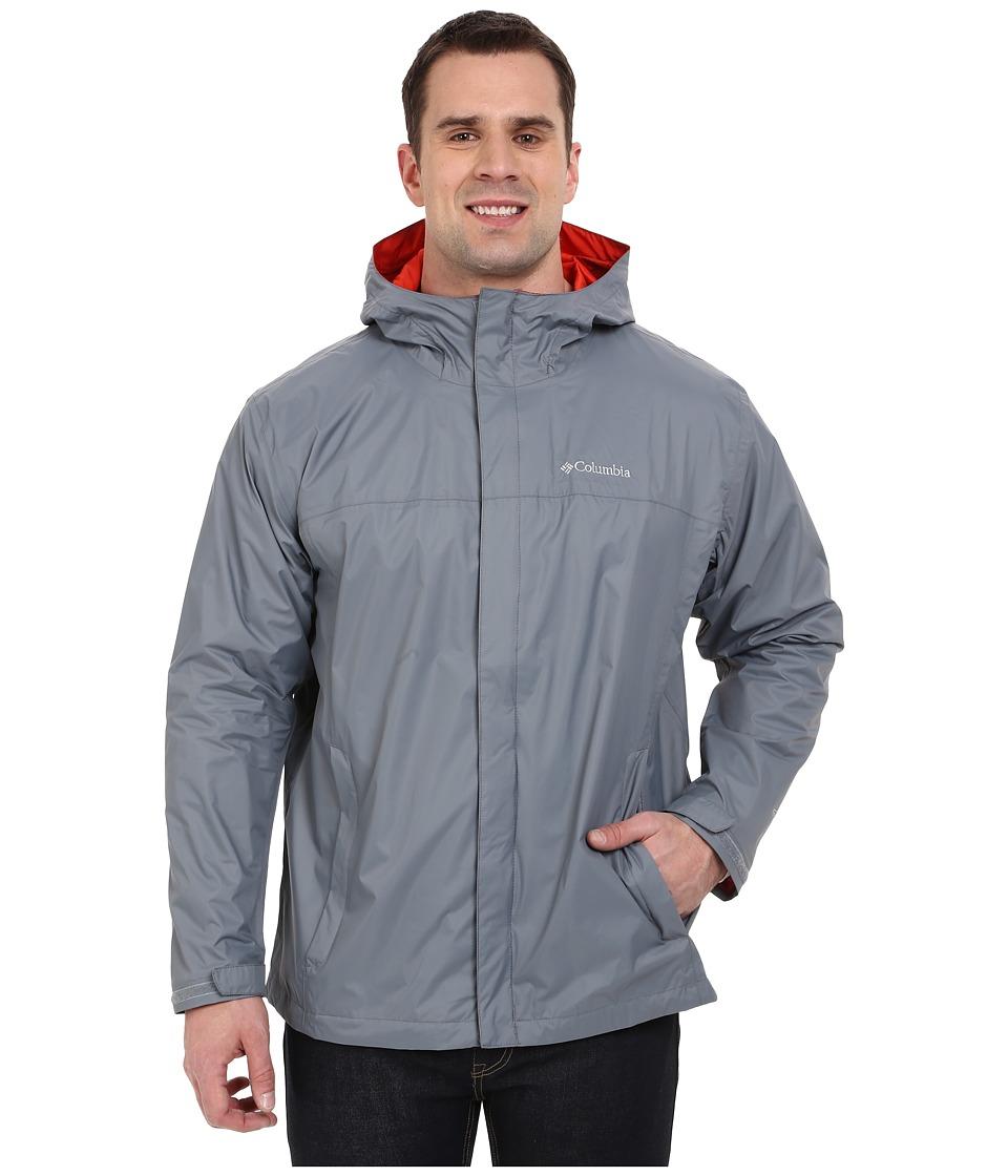 Columbia Watertight II Jacket Extended (Grey Ash/Super Sonic) Men