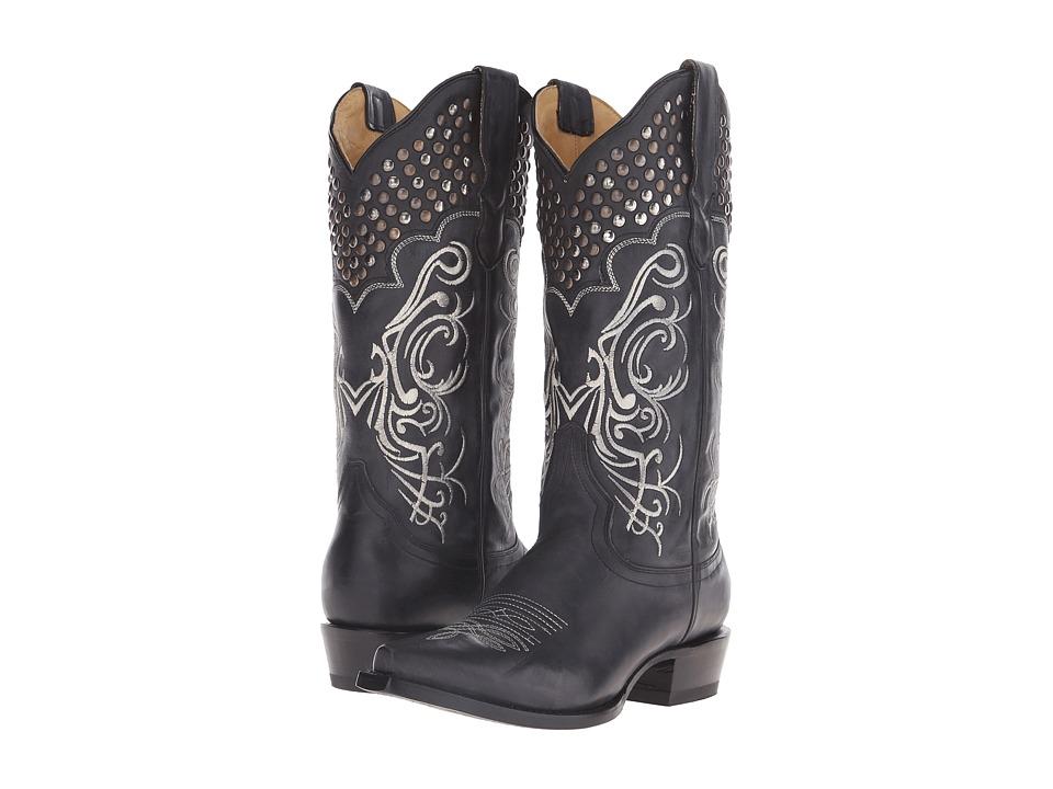 Stetson - Big Lila (Black Vamp) Cowboy Boots