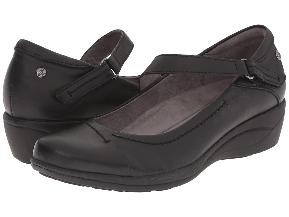 Hush Puppies - Blanche Oleena (Black Leather) Women