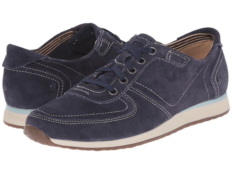 Hush Puppies Chazy Dayo Navy Suede Womens Lace up casual Shoes
