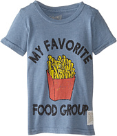 The Original Retro Brand Kids - Favorite Food Group Short Sleeve Tee (Toddler)