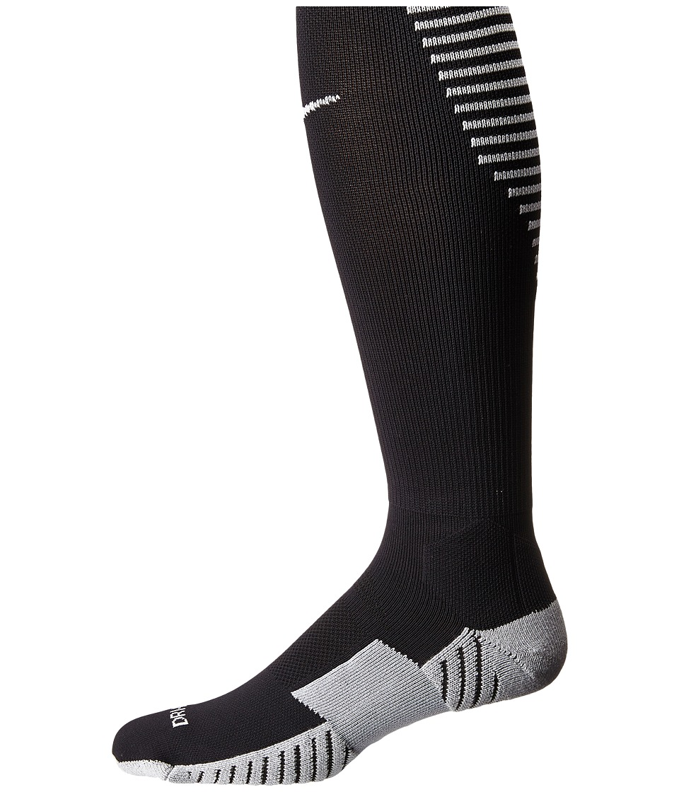 Nike Stadium Football OTC (Black/White/White) Men's Knee ...