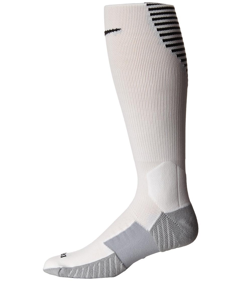 Nike Stadium Football OTC (White/Black/Black) Men's Knee ...