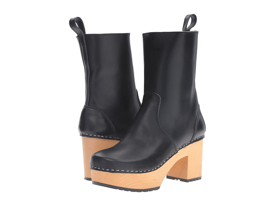 Swedish Hasbeens Swedish Boot (Black) Women