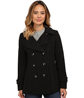 Anne Klein - Double Breasted Peacoat