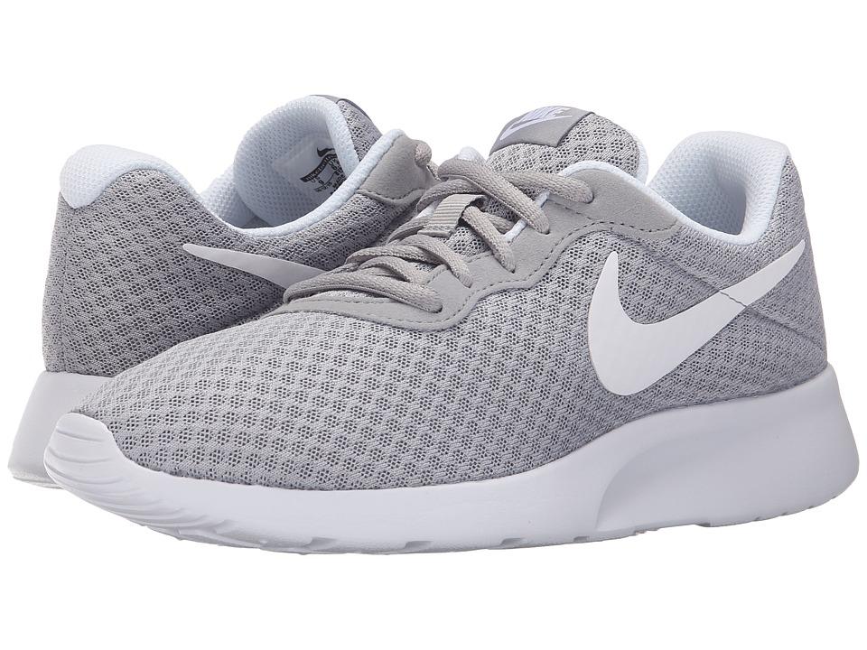 Nike - Tanjun (Wolf Grey/White) Womens Running Shoes