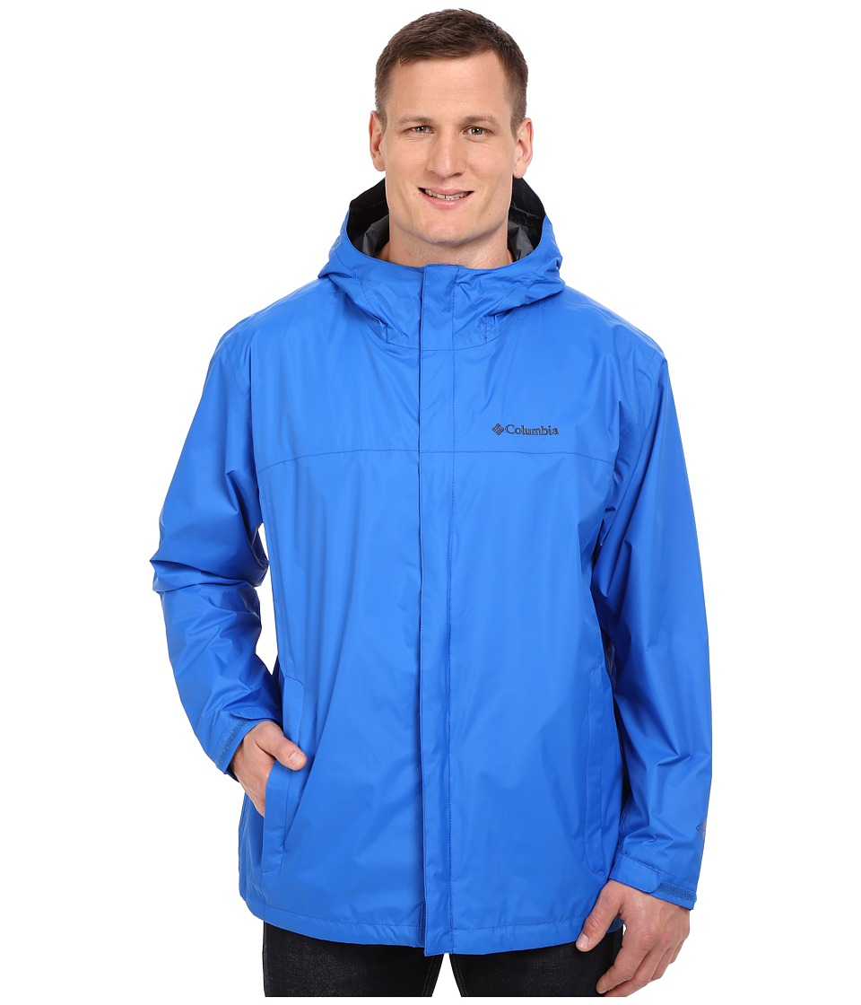 Columbia Watertighttm II Jacket - Big (Super Blue) Men's ...