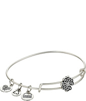 Alex and Ani - Four Leaf Clover Slider Expandable Wire Bangle
