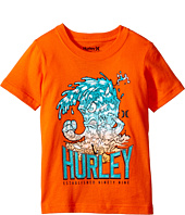Hurley Kids - Raging Tides Short Sleeve Tee (Little Kids)