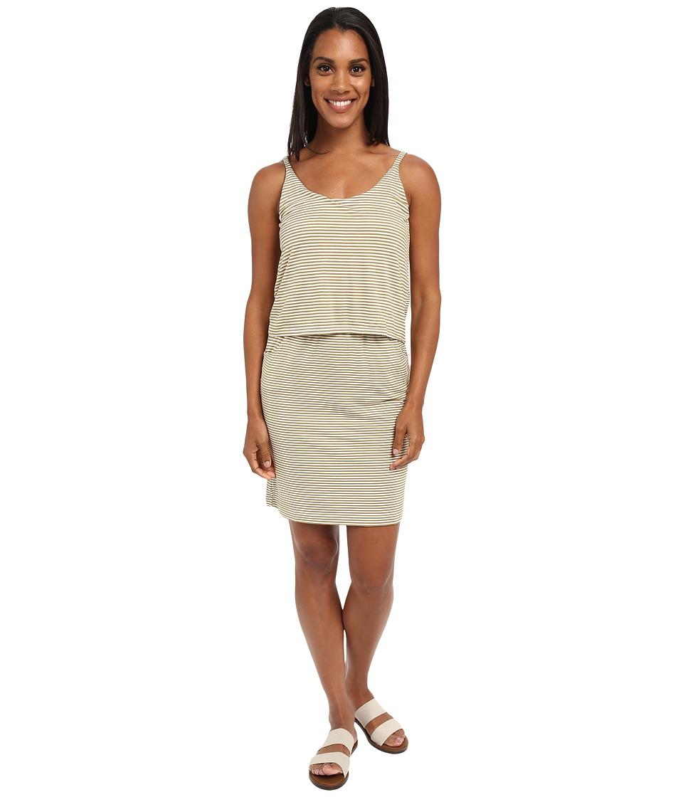 KAVU Coco Dress Olive Womens Dress