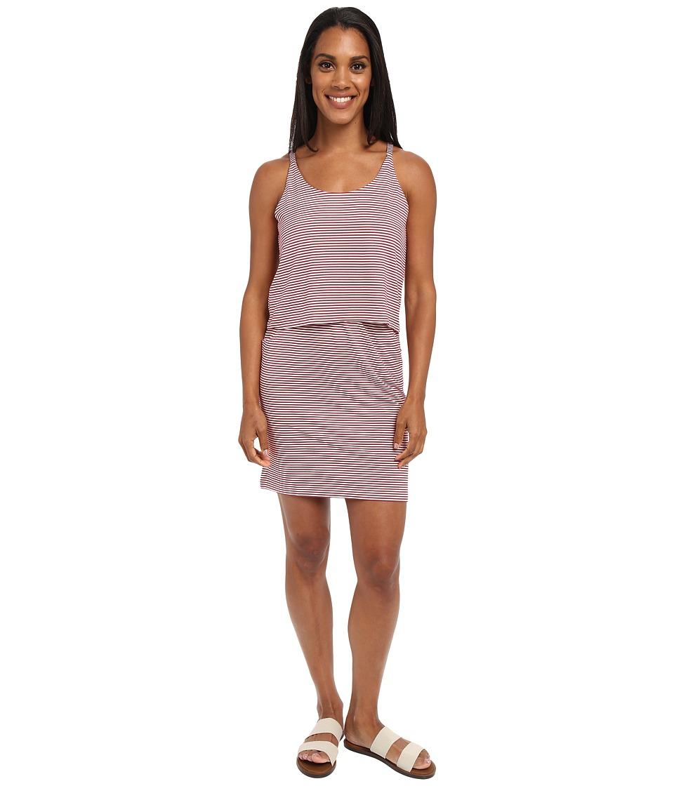 KAVU Coco Dress Brick Womens Dress