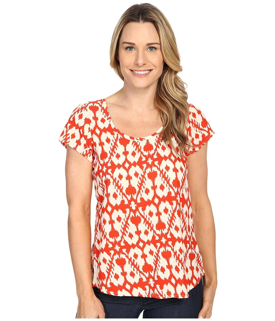 KAVU Bernice Blouse Firewater Womens T Shirt
