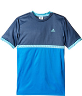 adidas Kids - Court Tee (Little Kids/Big Kids)
