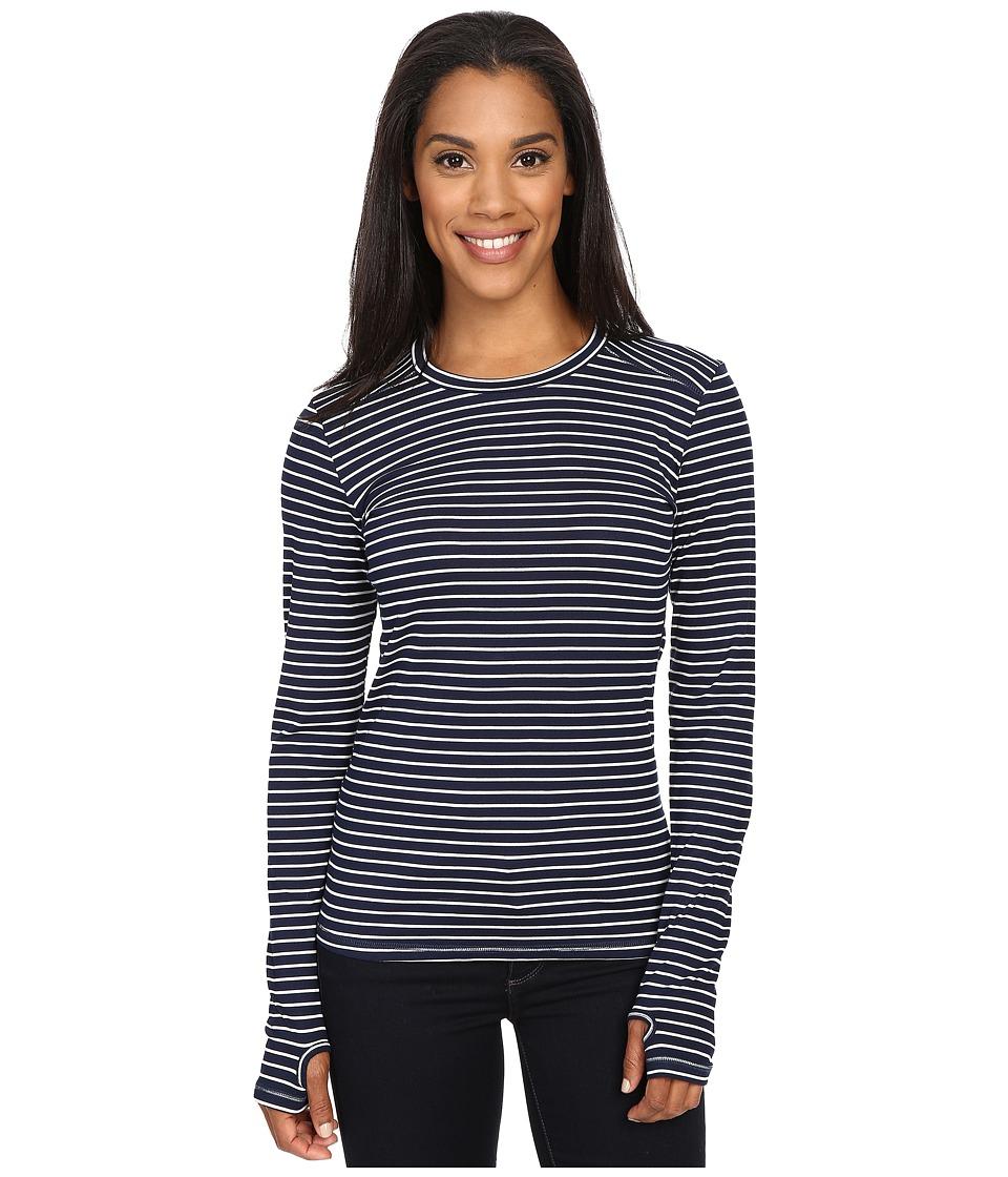 KAVU Candace Crew Nautical Womens Long Sleeve Pullover