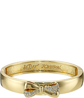 Betsey Johnson - Boxed Bow Hinge Bangle