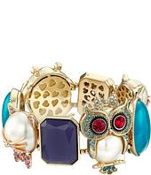 Betsey Johnson - Pearl Critters Charm Bracelet