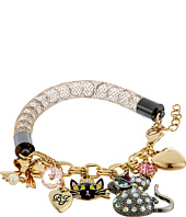 Betsey Johnson - Boxed Cat Charm Bracelet
