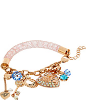 Betsey Johnson - Boxed Heart Charm Bracelet