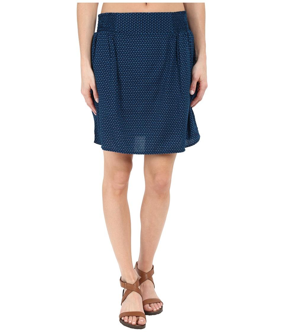 KAVU Cedar Skirt River Blue Womens Skirt