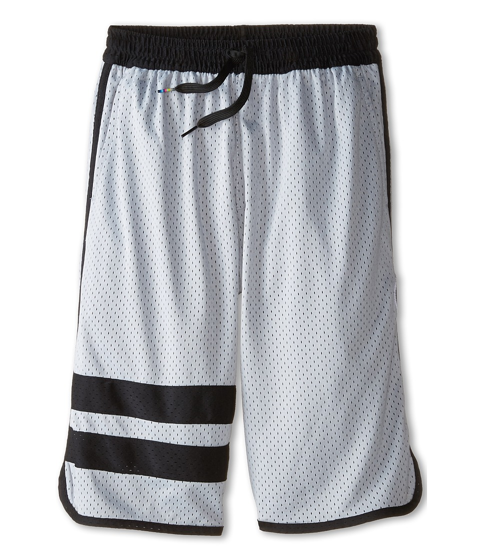 Hurley Kids Block Party Mesh Shorts Big Kids Wolf Grey Boys Shorts
