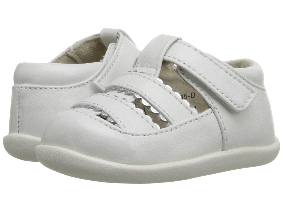 See Kai Run Kids Brook II Infant/Toddler White Girls Shoes