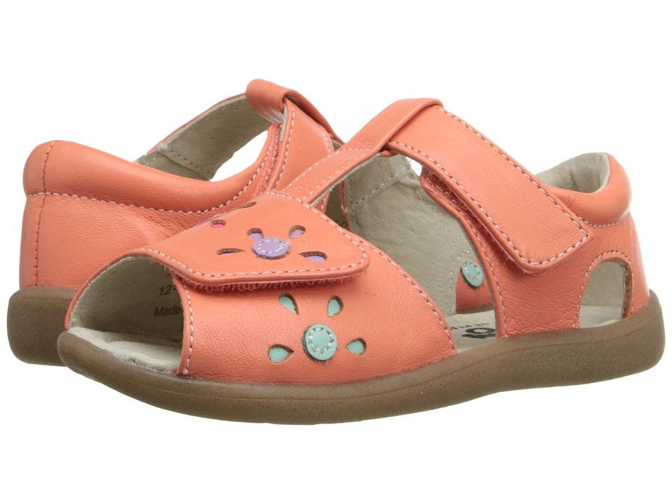 See Kai Run Kids Mal B. Toddler Coral Girls Shoes
