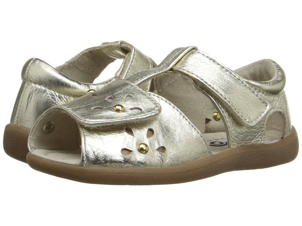 See Kai Run Kids Mal B. Toddler Gold Girls Shoes