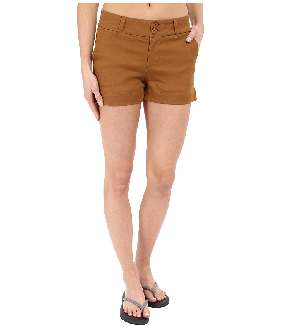 KAVU Catalina Short Tobacco Womens Shorts
