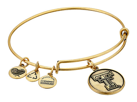 Alex and Ani Texas Tech University Logo Expandable Bangle - Gold