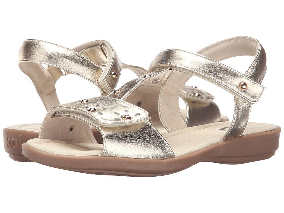 See Kai Run Kids Poppy Avalon Toddler/Little Kid Gold Girls Shoes
