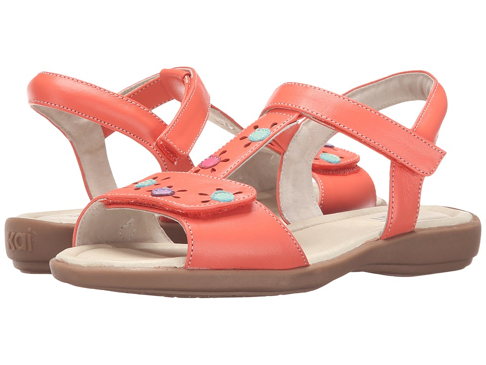 See Kai Run Kids Poppy Avalon Toddler/Little Kid Coral Girls Shoes