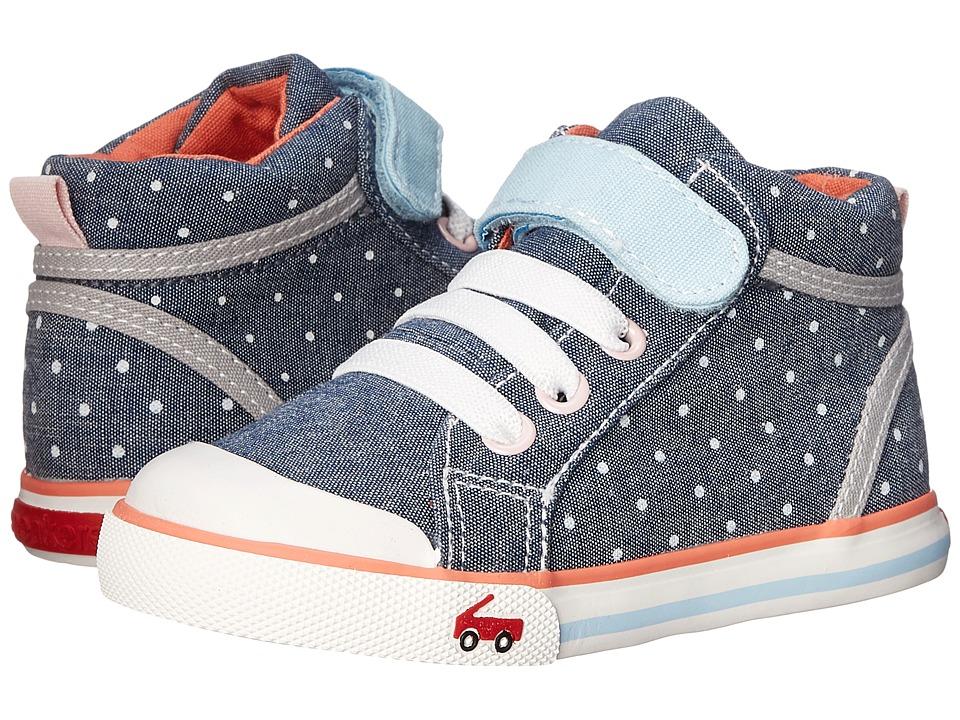 See Kai Run Kids Peyton Toddler Blue Girls Shoes