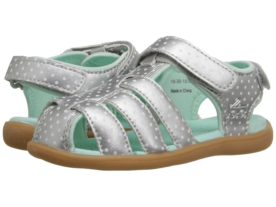 See Kai Run Kids Paley Toddler Silver Girls Shoes