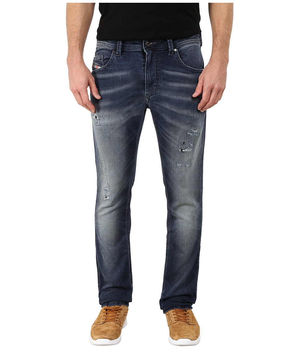 Diesel Thavar Ne Sweat Jeans in Denim 666W Denim Mens Jeans