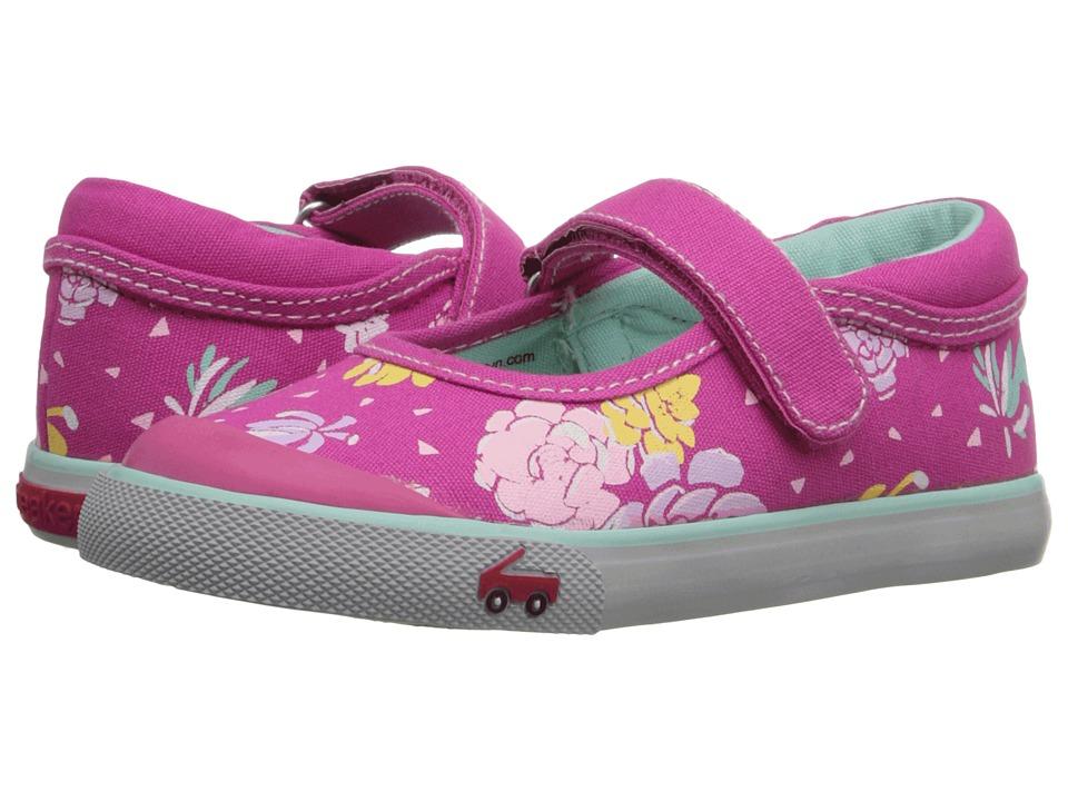See Kai Run Kids Marie Toddler Hot Pink 2 Girls Shoes