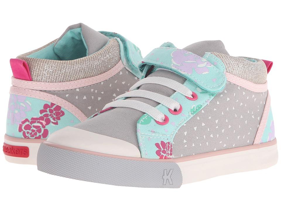 See Kai Run Kids Peyton Toddler/Little Kid Gray 1 Girls Shoes
