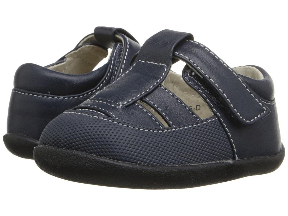 See Kai Run Kids Patrick II Infant/Toddler Navy Boys Shoes