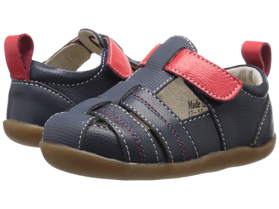 See Kai Run Kids Caleb Infant/Toddler Navy Boys Shoes
