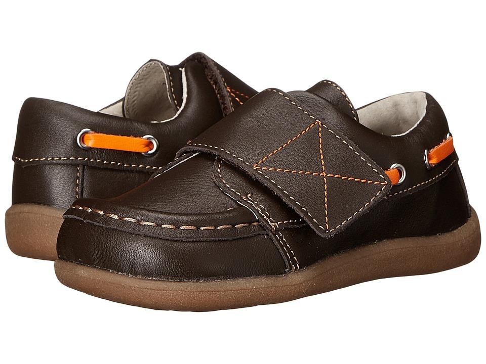 See Kai Run Kids Milton Toddler Brown Boys Shoes